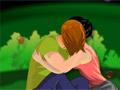 Сбежали целоваться