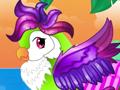 Экзотический попугай