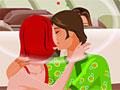 Поцелуи в самолете