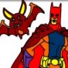 Бэтмен Раскраска